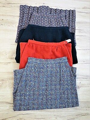 Vintage Lot - 1950s-1960s Skirts - Tweed, Boucle - Lot of 4