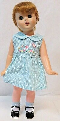 "American Character 1960 American Doll & Toy Company 24"" Toodles Follow Me Eyes"