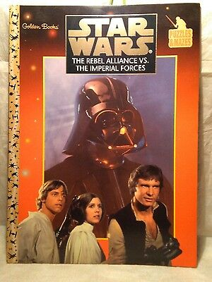 Star Wars The Rebel Alliance Vs. The Imperial Forces Puzzles & Mazes