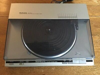 TECHNICS SL-BL3 Linear Drive Servo Controled Automatic Turntable WORKING