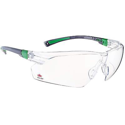 NoCry Safety Glasses with Clear Anti Fog Scratch Resistant Wrap-Around Lenses UV