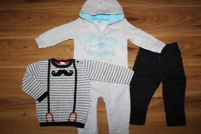 George H&M F&F boys winter bundle 12-18 months *I'll combine postage*(108)
