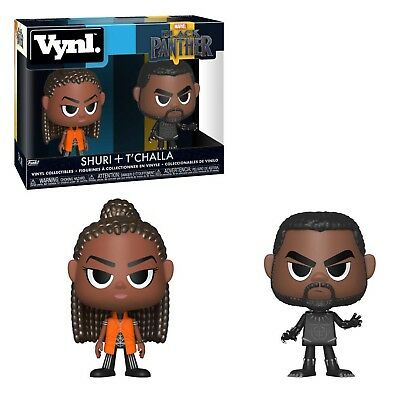 Funko Marvel Black Panther Vynl Shuri T'Challa Figure Set NEW IN STOCK