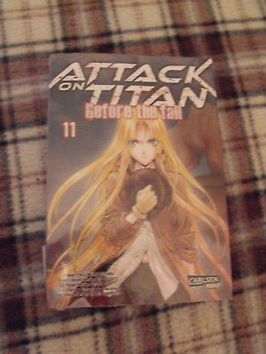 Attack on Titan Before the Fall Band 11 NEU!