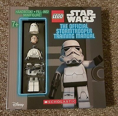 LEGO Star Wars the Official Stormtrooper Handbook by Scholastic incs minifigure