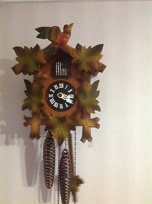 German Regula Cuckoo Clock ~Good  Working Order