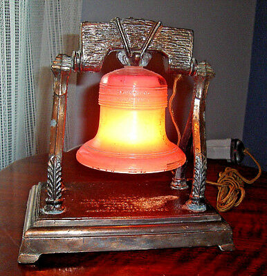 1926 Philadelphia Sesquicentennial Exposition WORKING BRASS LIBERTY BELL LAMP
