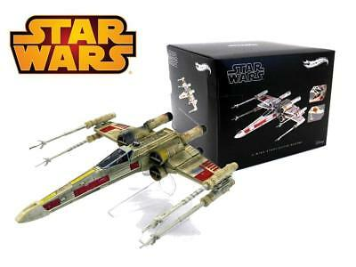 NEW. Hot Wheels Star Wars X-Wing Starfighter Red Five Vehicle