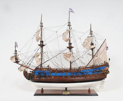 """Goto Predestination Tall Ship Large 37"""" Wood Model Boat Assembled"""