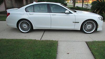 2012 BMW 7-Series Oyster and Black Nappa Leather 2012 BMW ALPINA B7