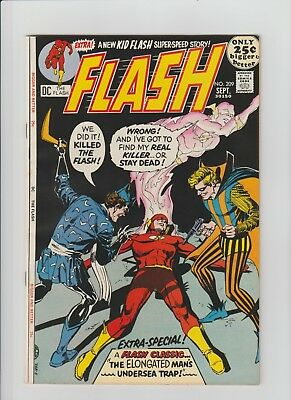 The Flash #209 (Sep 1971, DC) NM- (9.2) 52 Page Giant-Sized Issue !!!!!