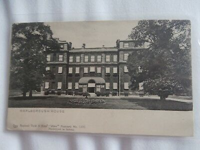 Marlborough House London - 1901 undivided back postcard