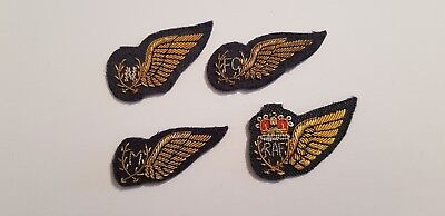 Four Recent Issue RAF Royal Air Force Mess Dress Aircrew Wings