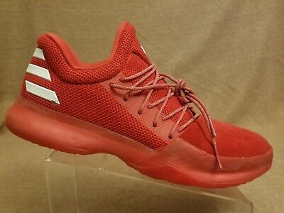 813f4b62d2e ... greece adidas cq1404 men nba james harden vol.1 red white basketball  sport shoes sz