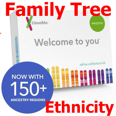 🔥🛒Personal Ancestry Kit with Lab Fee Included | 23andMe | DNA Family Tree Test