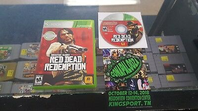 Microsoft Xbox 360 - Red Dead Redemption game refurbished free shipping one 1