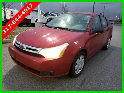 2010 Ford Focus S Used 10 Ford Focus S 2L I4 Auto FWD Sedan Red Cloth Reserve Cheap Car