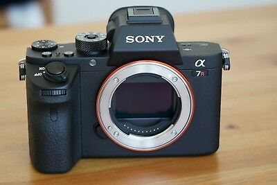 Sony Alpha a7R II 42.4MP Digital Camera With Two 64G SD Card Shutter Count Is 0!