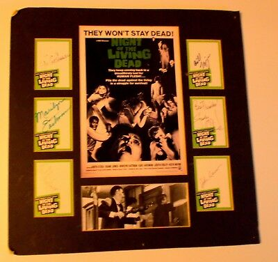 Night of the Living Dead Autograph Imagine Green Trading Cards: Romero + 5 +