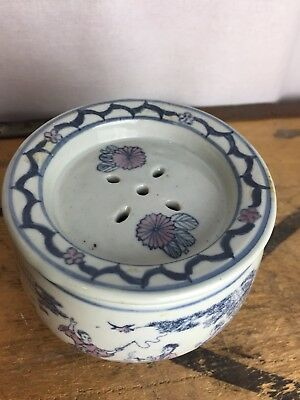 Chinese Cricket Pot With Lid