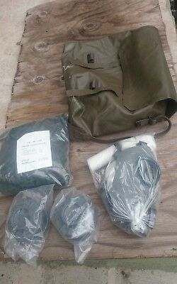 FINNISH Gas Mask & Bio Chemical Protective Suit. NEW. Military suit