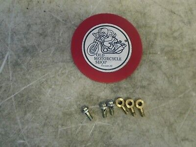 1975 Can-Am 175 Tnt Oil Pump Fittings