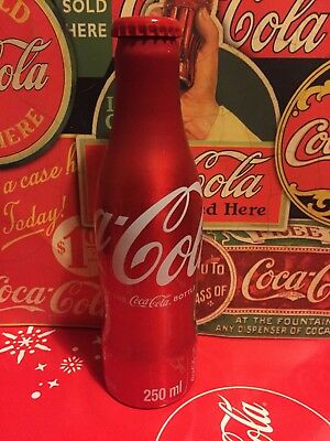 Coca Cola bottle full Aluminium South Africa 2015 - 250ml