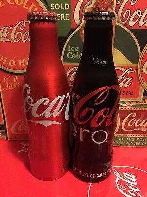Coca cola Bottle Coke Aluminium Set USA 2007 very rare United States America