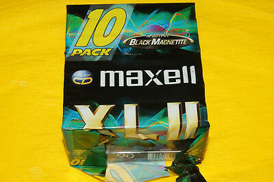 7x MAXELL XL II 90 Cassette Tapes 1998 + OVP + SEALED +