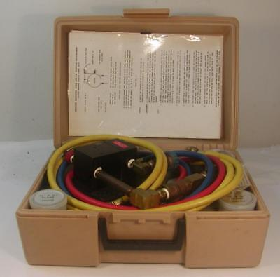 Vintage Rpz Model 825Tk Backflow Preventer Test Kit With Case-Untested