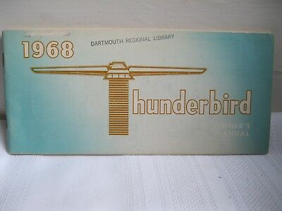 1968 Thunderbird Owner's Manual