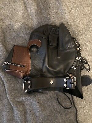 Mr. S Leather Dog Bondage Hood Mask