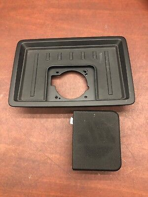 2013 Ford F-150 Platinum Center Dash Tray Panel W/ Tweeter Speak OEM