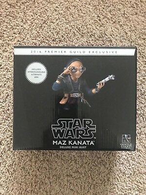 Gentle Giant Star Wars Maz Kanata PG Exclusive Deluxe Collectible Mini Bust