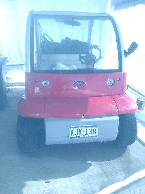 2002 Ford Think Golf Cart