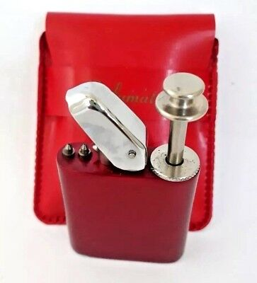 Vintage Kent Perfumatic Figural Cigarette Lighter Perfume Atomizer Compact. New!
