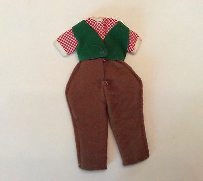Vintage BETSY MCCALL DOLL Original Outfit PONY PALS