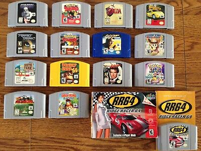 Lot Of 15 AUTHENTIC NINTENDO 64 N64 GAMES ... ALL IN GREAT WORKING SHAPE