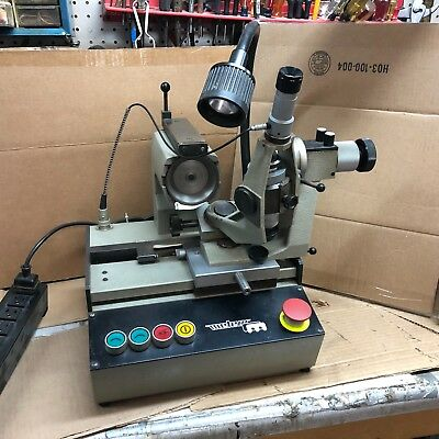 M365. Meteor MM10. Swiss Drill Sharpening, Tool Grinding Machine. Extra Wheels.