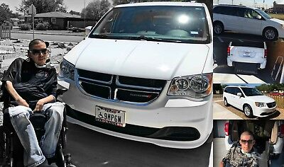 2016 Dodge Caravan SXT 2016 Dodge Grand Caravan SXT Wheelchair Accessible Rear-Entry FR conversion!