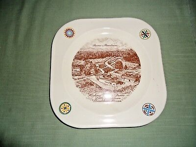 Old Hickory Valley Farm, Little Kunkletown, Stroudsburg, Pa Souvenir Plate.