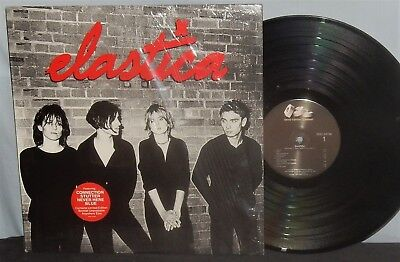 Elastica 1995 Alternative Rock Lp W/booklet, Custom Sleeve Nm Shrink Vpi Nr