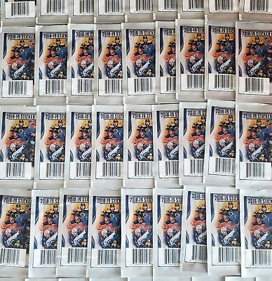 50 NEW Factory Sealed 2018-19 Panini Hockey Sticker lot NHL stickers 5 per pack