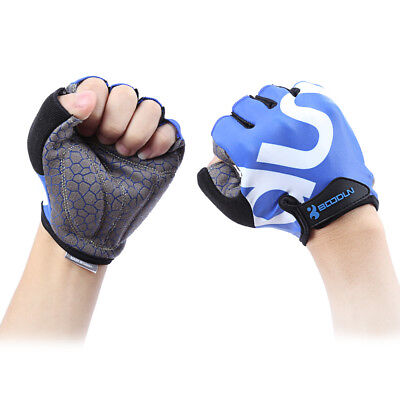 Unisex Anti-slip Gym Sport Weight Lifting Training Cycling Half Finger Gloves