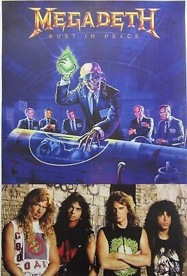 MEGADETH  `Rust In Peace` big poster