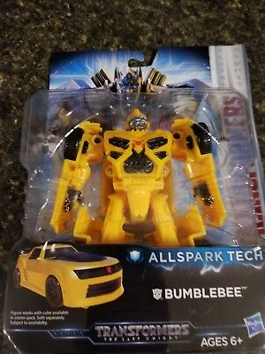 """""""NEW"""" Transformers The Last Knight Allspark Tech Bumblebee Cube Powers Figure"""