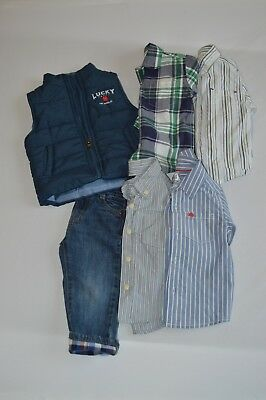 Boys Lot Size 12M 6pc Lot Gymboree Baby Gap Carter's Janie and Jack Lucky NWT