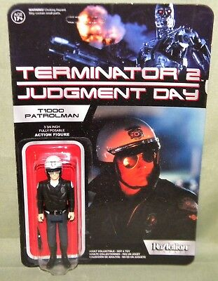 T1000 PATROLMAN Chase ReAction Super 7 TERMINATOR 2 Retro Action Figure Funko