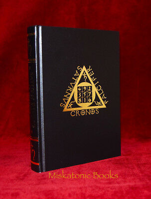 SATURN RISING by J.T. Kirkbride, Aeon Sophia Press, Grimoire, DELUXE LEATHER