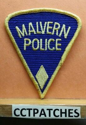 Malvern, Arkansas Police Shoulder Patch Ar
